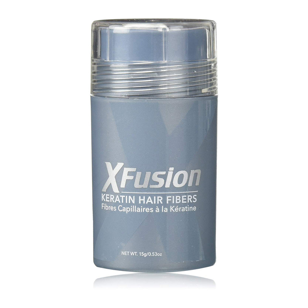 Xfusion Keratin Hair Fibers By Toppik Medium Brown 15g/0.53 oz.