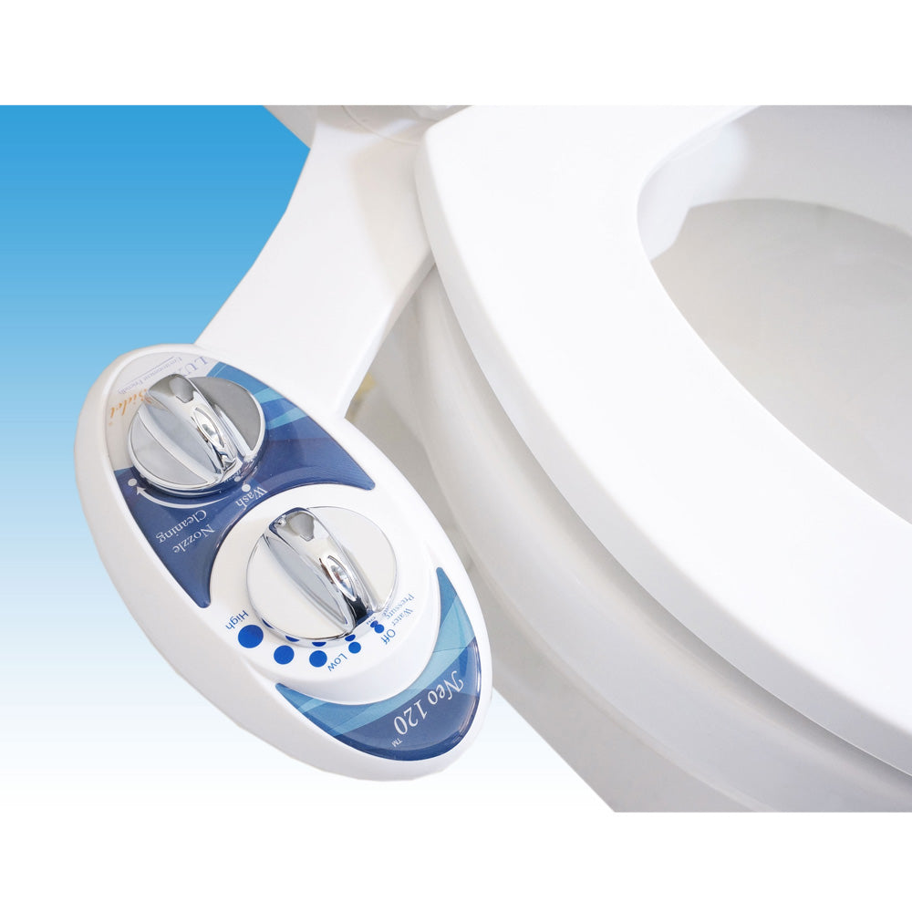 Luxe Bidet Neo 120 Self Cleaning Nozzle Fresh Water Non-Electric Mechanica
