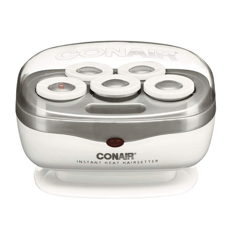 Conair TS7X Instant Heat Travel Hot Rollers White