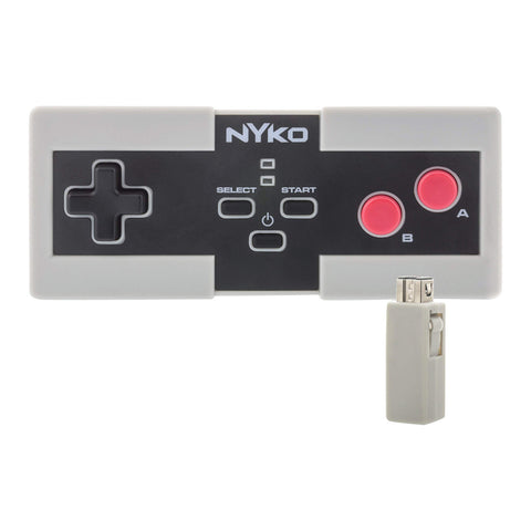 Nyko Miniboss AAA Wireless Controller Powered by AAA Batteries for NES
