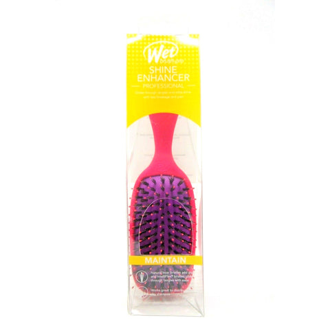 Wet Brush Shine Enhancer Brush Maintain Pink Brush