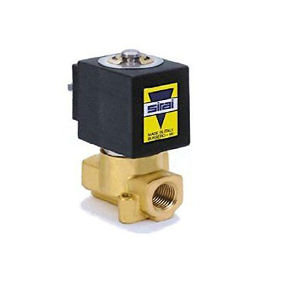 Sirai L121BB022A10AH1 Brass Body Direct Acting General Service Solenoid Valve