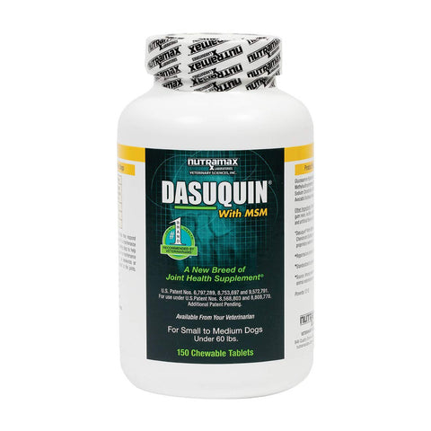 Dasuquin with MSM for Small to Medium Dogs 150 Chewable Tabs