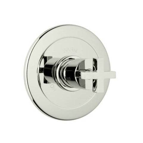 Rohl BA600X-PN Modern Bath Architectural Volume Control Pressure Balance Trim without Diverter Cross Handle (Like New)