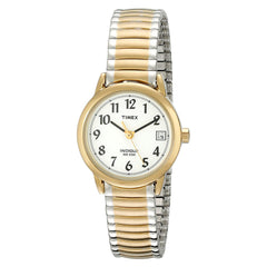 Timex Women's T2H381 Easy Reader Two-Tone Expansion Band