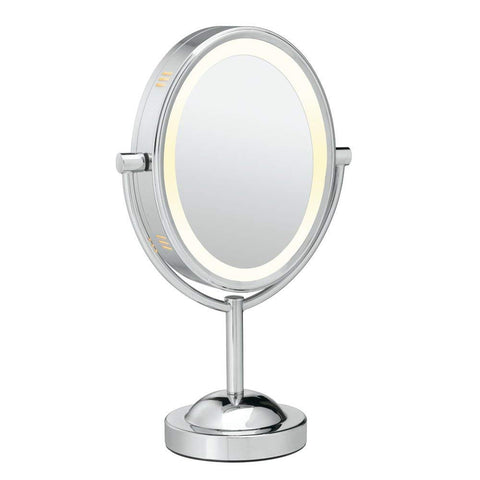 CONAIR BE151T Double-Sided Lighted Makeup Mirror Lighted Vanity (Like New)