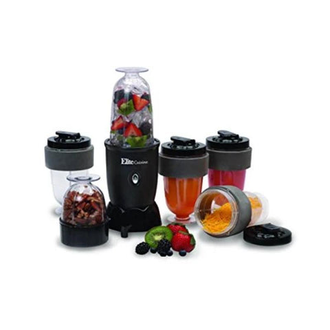 Maxi-Matic EPB-1800 17 Piece 300W Personal Drink Blender, 16 Oz