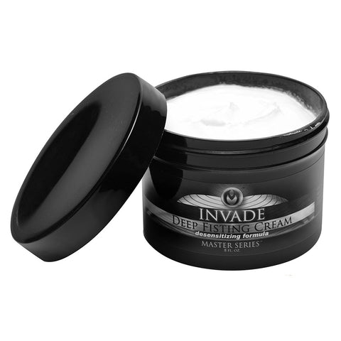 Master Series Invade Deep Fisting Desensitizing Cream 8oz