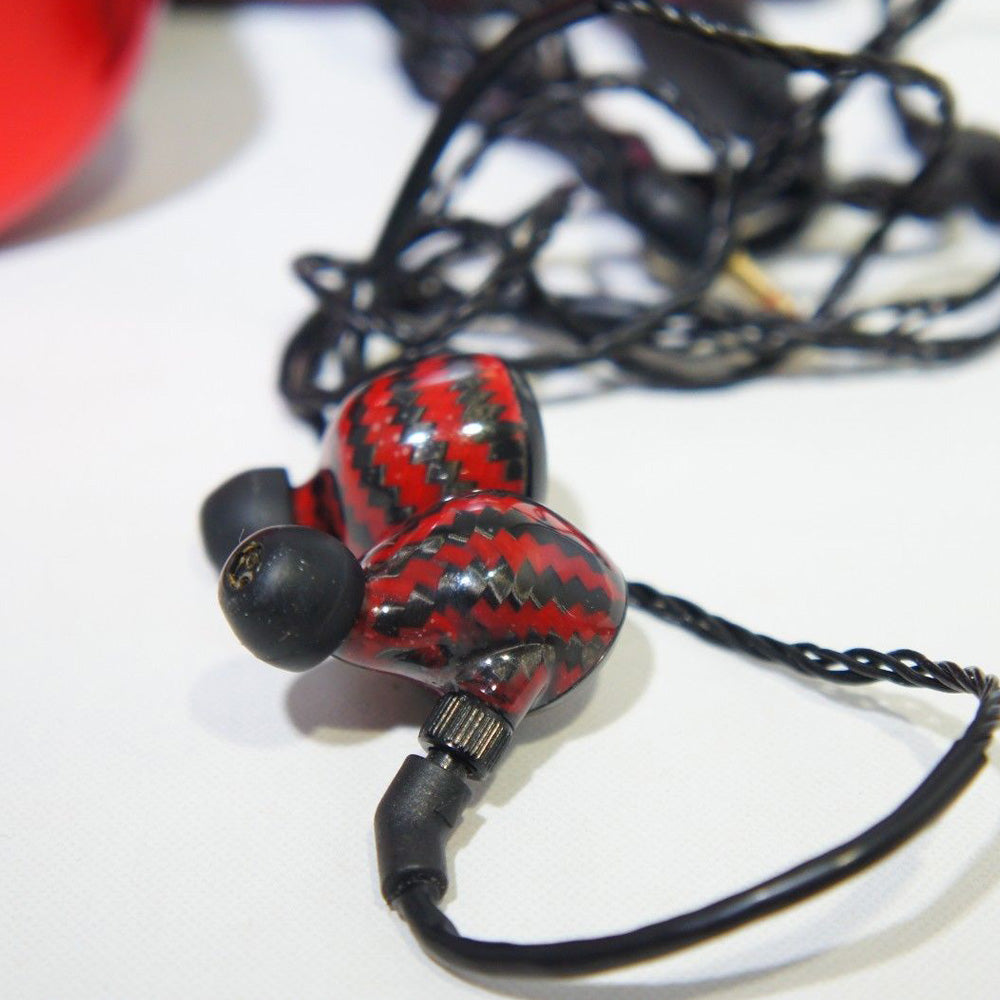Astell & Kern JH Audio Special Edition Angie Headphones, Red, 2EP008-CMRD68