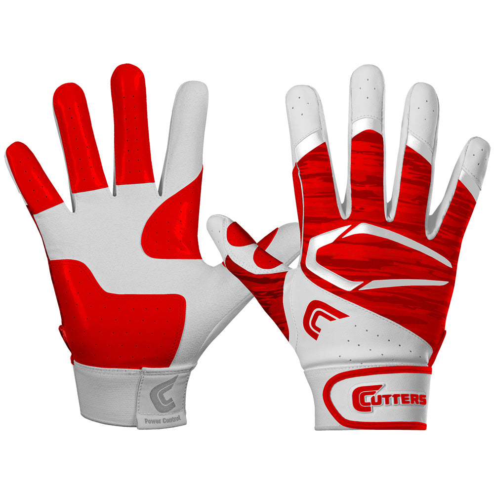 Cutters B441 Power Control 2.0 Baseball Batting Gloves