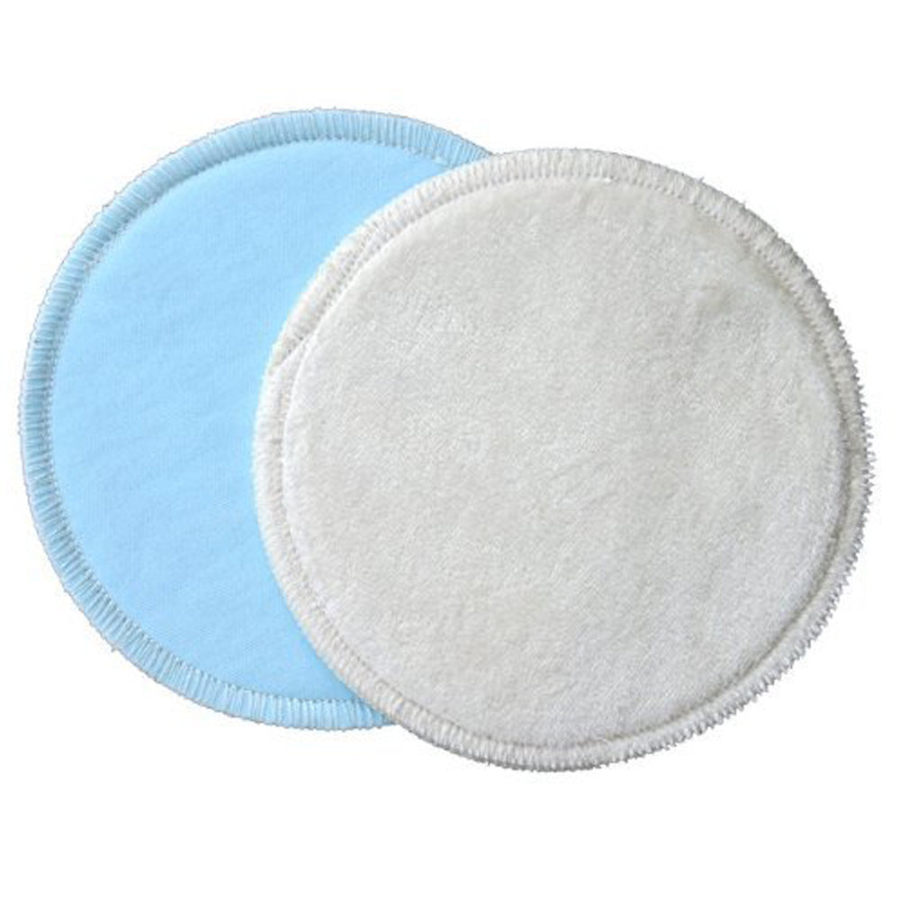 Bamboobies Washable Reusable Nursing Pads with Leak-Proof, 12 PADS