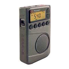 C Crane Pocket Radio with AM/FM/WX & 55 Presets