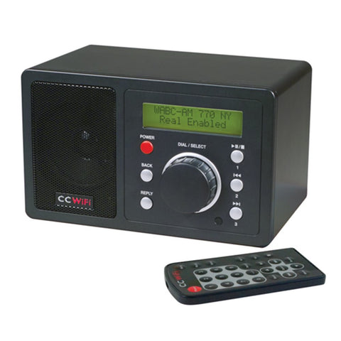 C Crane CC WiFi Internet Radio with Clock, Alarm & 99 Memory Presets