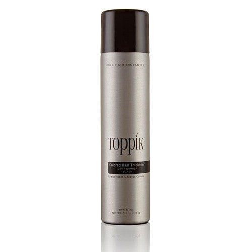 Toppik Colored Hair Thickener, 5.1 oz/144g bottle