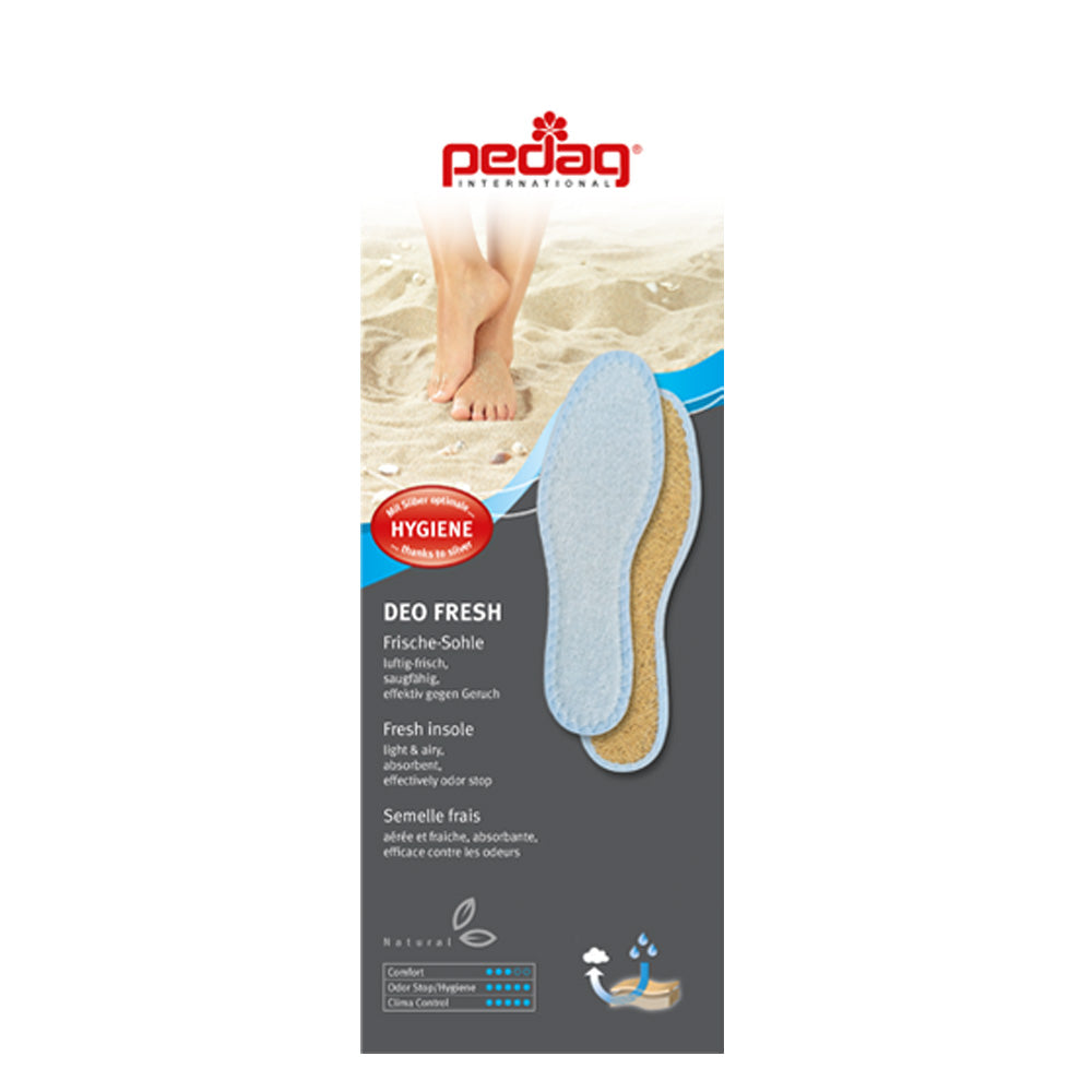 Pedag 106 Deo Fresh Full Length Orthotic Insoles