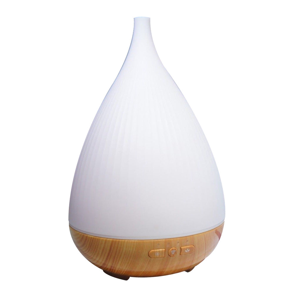 Wifi Essential Oil Diffuser White works with Alexa
