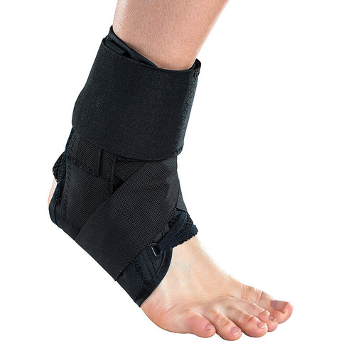 DonJoy Stabilizing Speed Pro Ankle Support Brace, Small, Black