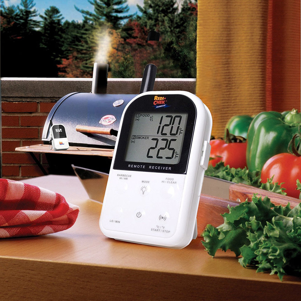 Maverick ET-732 Wireless Barbecue Thermometer Set of Transmitter, Receiver & Probes