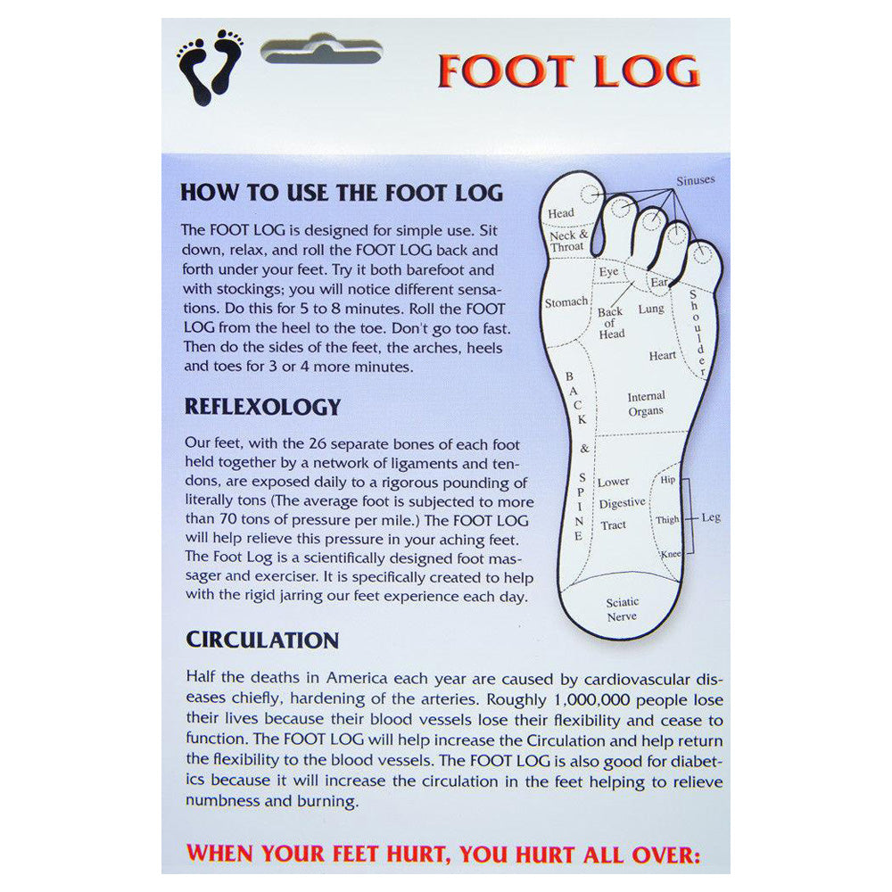 The Original Footlog Foot Roller