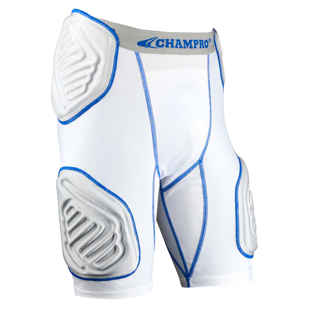 Champro Sports FPGU10 Bull Rush 5-Pad Girdle