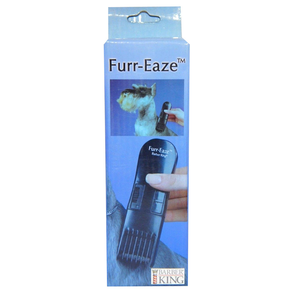 Barber King Furr-Eaze Cordless Dog Pet Trimmer W/ Stainless Steel Blades New