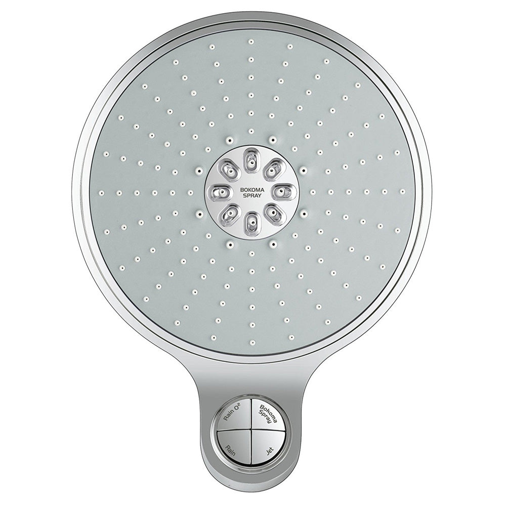 Grohe Power & Soul Cosmopolitan 4-Spray 7-1/2 in. Showerhead in StarLight Chrome