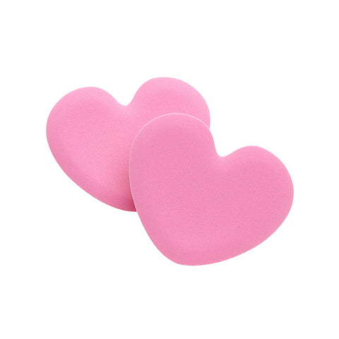 Foot Petals Heart Tip Toes, Rose, One Pair