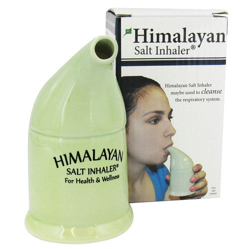Nature's Artifacts Himalayan Salt Inhaler, Breathing Therapy for Asthma