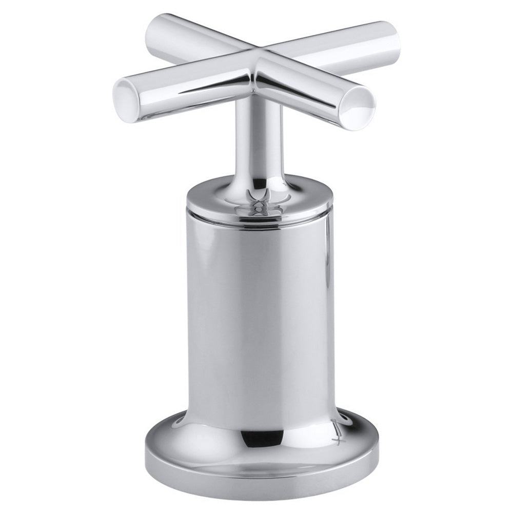 KOHLER K-T14429-3-CP Purist Bath or Deck Wall-mount High-Flow Bath Valve Trim, Polished Chrome (Used - Like New)