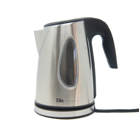 Elite Platinum EKT-1330 Stainless Steel 1.7L Cordless Kettle Stainless Steel