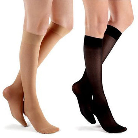 Futuro Ultra Sheer Women's Knee Highs Mild 8-15 Mmhg
