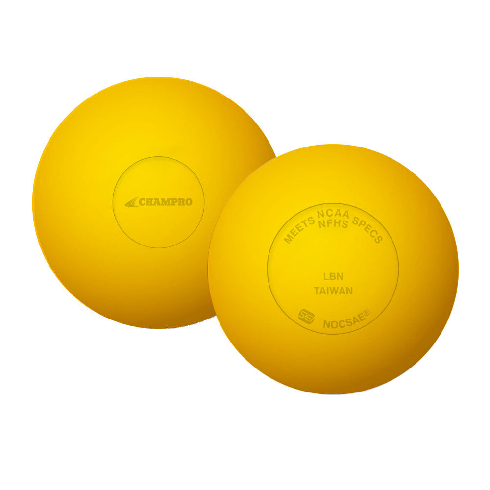 Champro Sports LBN NOCSAE Lacrosse Balls (Pack of 2)