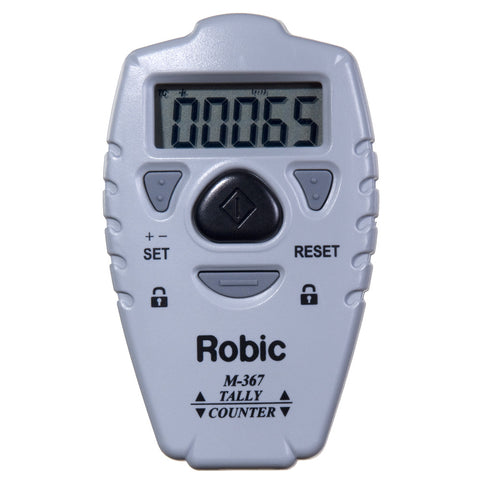 Robic M367 Electronic Digital Pitch Count Up & Down Activities Tally Counter