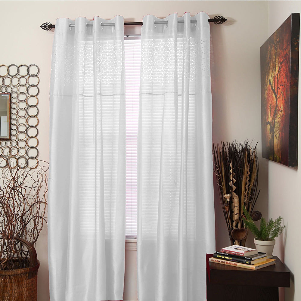 Bedford Home Monica Grommet Curtain Panel