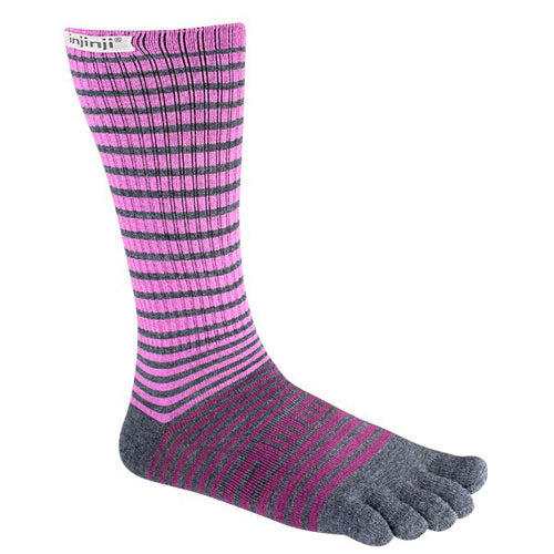 Injinji Outdoor Original Weight Crew Toe Socks, Nuwool