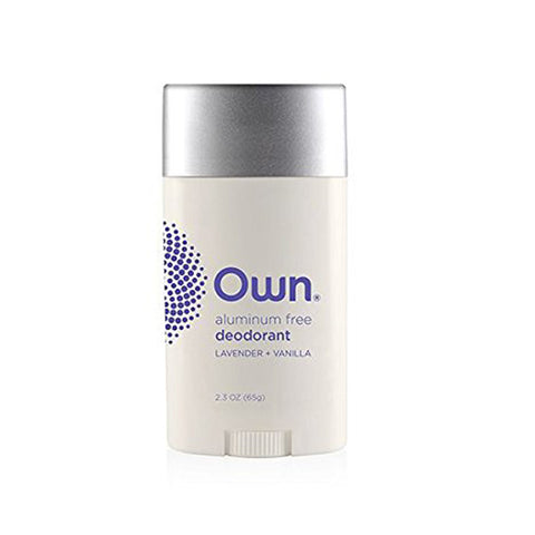 Own Beauty Deodorant, Lavender/Vanilla, 2.3 oz