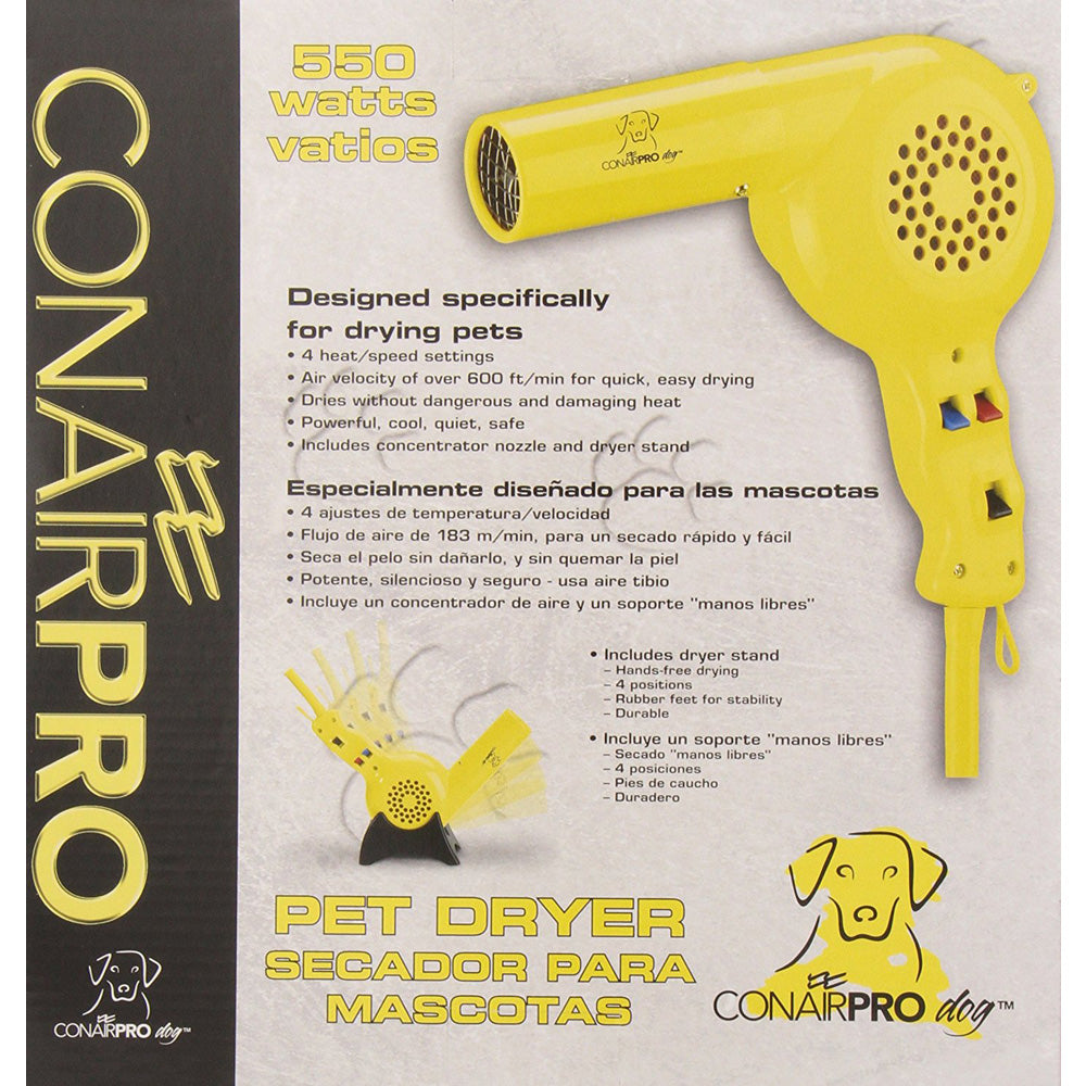 Conair PRO Dog 550 Watt Pet Dryer (Like New)
