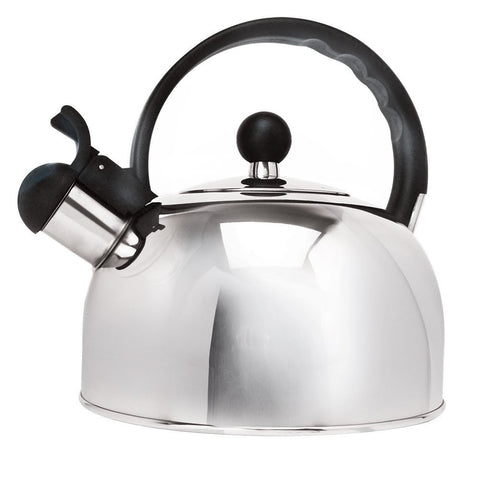 Primula Stainless Steel 2.5 qt. Whistling Stovetop Tea Kettle