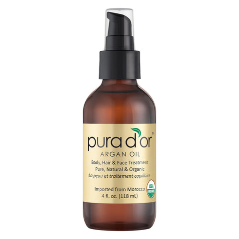 Pura D'Or® Organic Argan Oil 4 fl. oz. Bottle