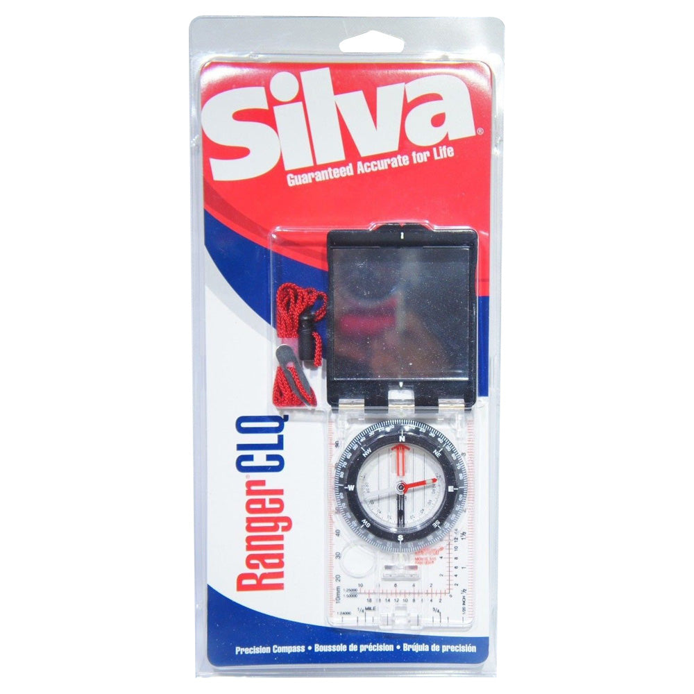 Silva Ranger 515 CLQ Precision Boy Scout Compass Sighting Luminous Mirror Lanyard