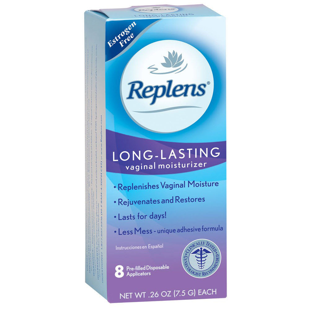 Replens Long-Lasting Vaginal Moisturizer, 0.24 OZ, 8 Count