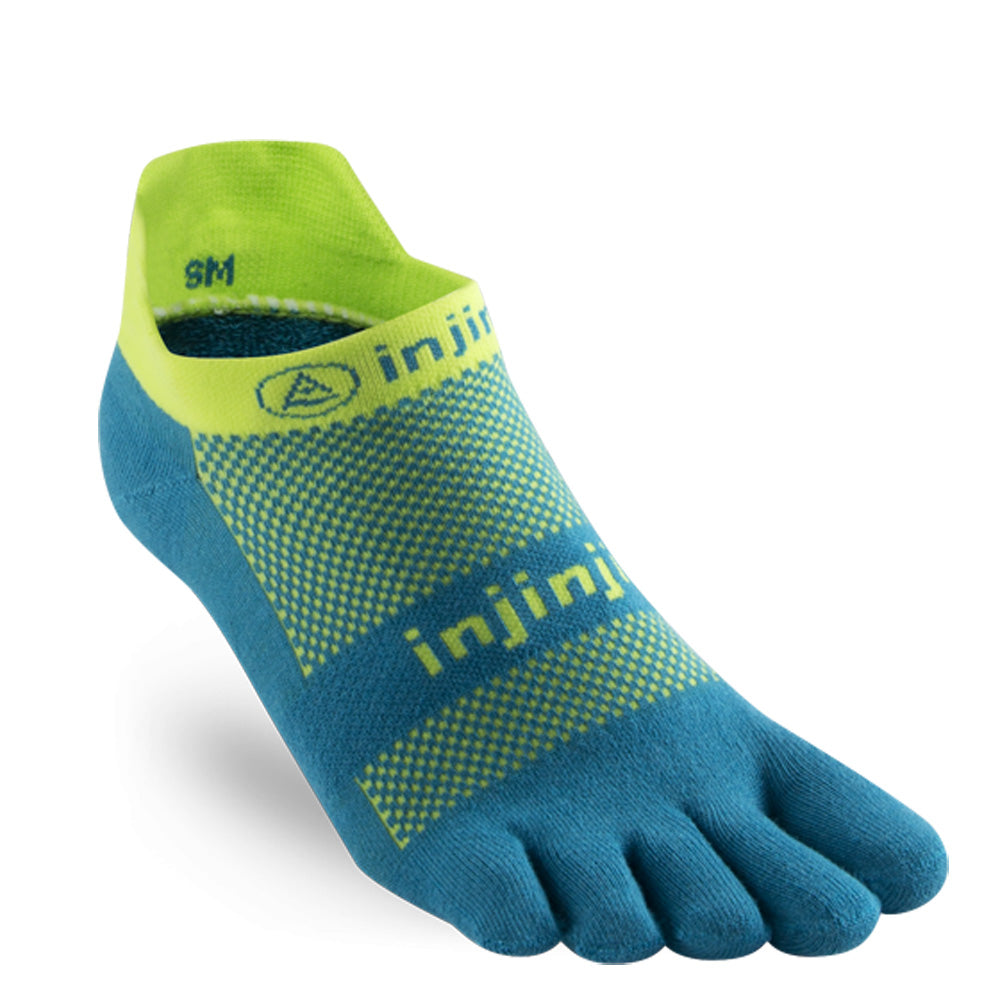 Injinji Run Lightweight No-Show Toe Socks 201110