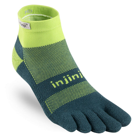 Injinji Run Midweight Mini-Crew Toe Socks