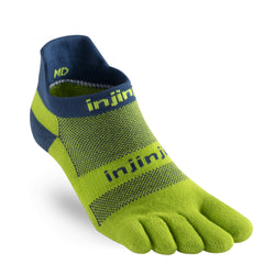 Injinji Run Midweight No-Show Toe Socks