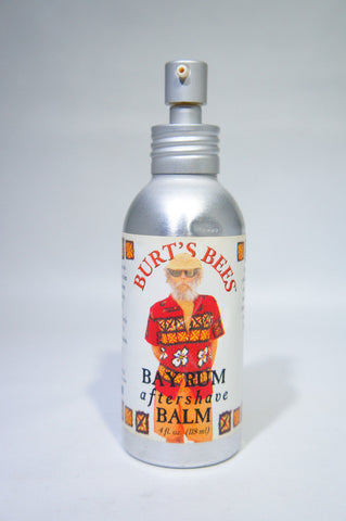 Burt's Bees Bay Rum After Shave Balm 4 fl. oz. BOTTLE