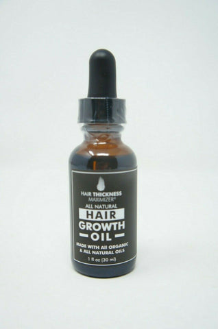 Organic Hair Growth Oils for Hair Thickening by Hair Thickness 1 oz.