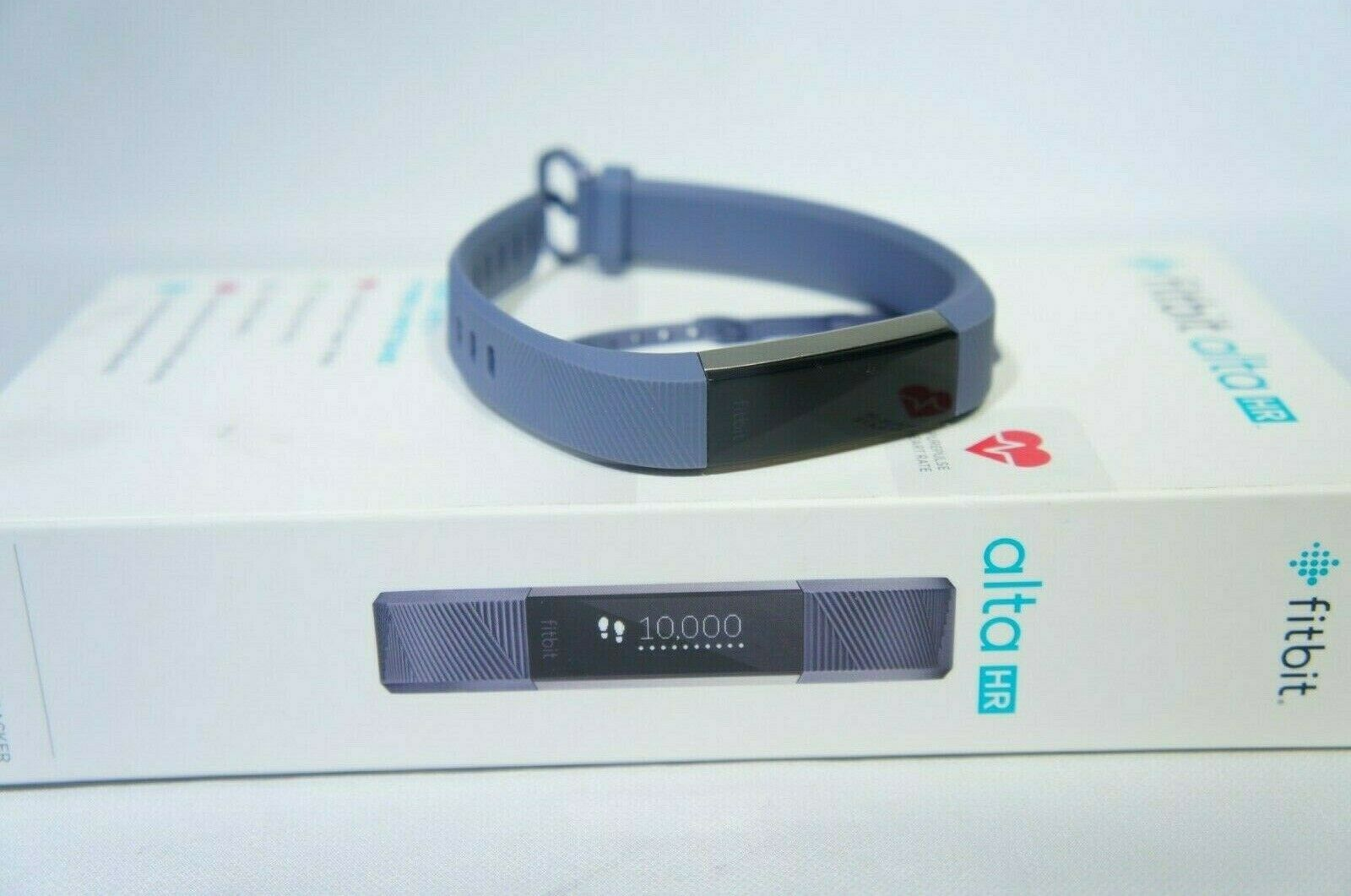 Fitbit Alta HR Blue/Gray Large (Like New)