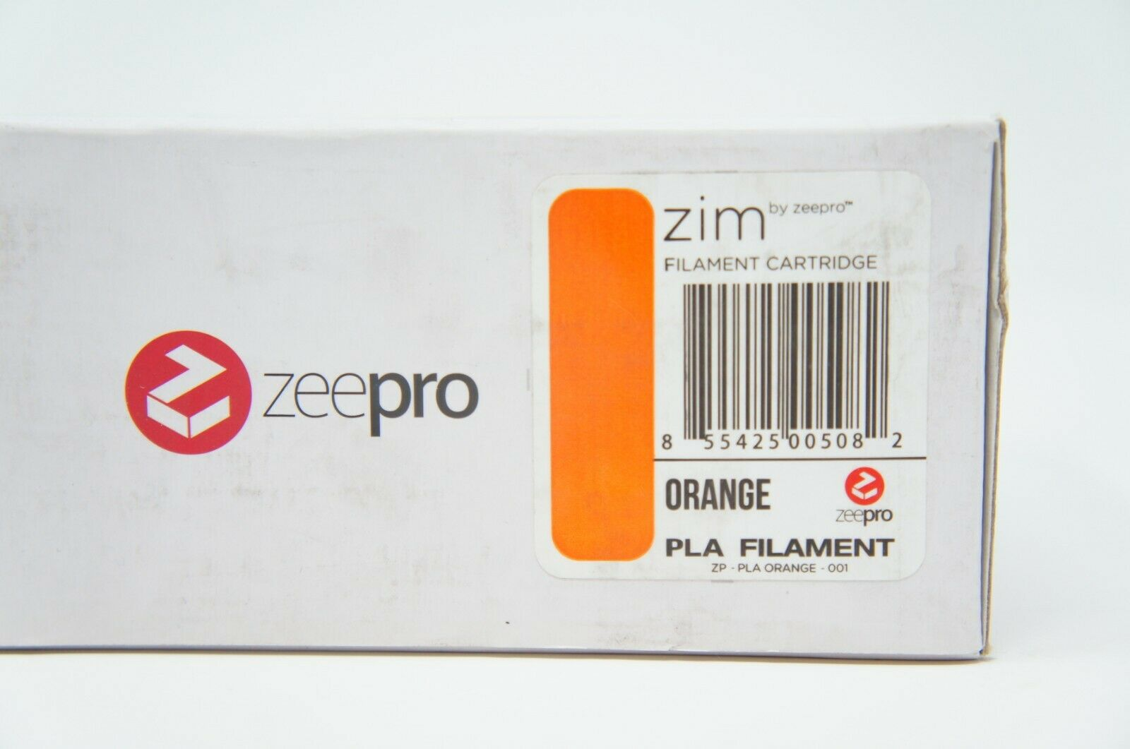 Zeepro ABS Plastic Filament Cartridge, 1.75mm Diameter, 250g