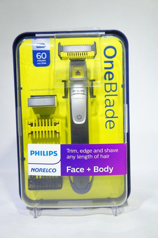PHILIPS NORELCO QP2630/70 OneBlade Face + Body hybrid electric trimmer and shave (Like New)