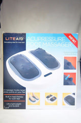 Liteaid LA-175 Acupressure Heated Foot Massager (NEW DAMAGED BOX)